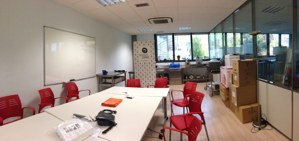 The room where all the Basque Stage magic happens!